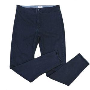 Levi's high rise dust black legging pants size 29